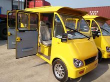 new 72v 1550w electric car/'van for passengers