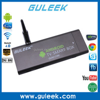 2015 HOT SELLING Portable mini pc android 4.2 quad core tv box full hd tv box with wifi and bluetooth 4.0
