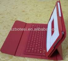 Manufacturing!!!For samsung P7510 bluetooth keyboard with leather case