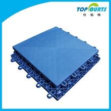 Polypropylene(PP) outdoor basketball court interlocking floor tiles