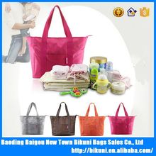 New fashion multifunctional large capacity mommy tote diaper baby bag