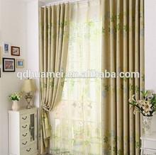 Ventana del visillo y cortinas para ventana