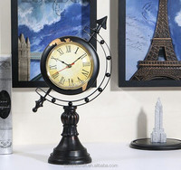 American Globe desk clock resin antique globe clock