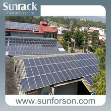 tilt angle roof solar panel mounting system/home solar pv mount structure
