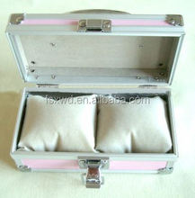 Leather Storage Gift Box For Unfinished Wood Jewelry Boxes Wholesale cosmetic train cases