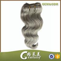 Whatsapp contact eurasian virgin gray human hair extensions