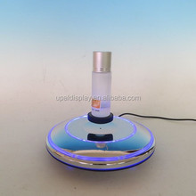 360degree floating magnetic levitation display/ magnetic floating cosmetic display