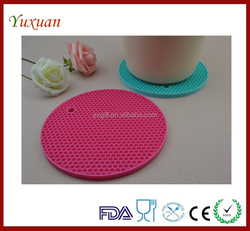 hot soft Silicone kitchen insulation Tableware pad rubber