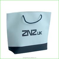 2016 new promotional custom paper shopping bag