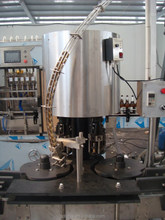 High speed bottle washing filling capping machine