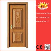 Single swing manual operating room wooden doors SC-W111