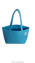 Cheap and fancy felt tote bag