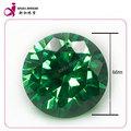forma redonda cz nombre verde esmeralda piedras preciosas precio por quilate en china