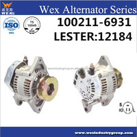 toyota forklift alternator 12V 55A OEM: 100211-6930,100211-6931 LESTER:12184 CARGO:111018