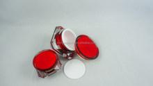 15g Red Acrylic Cosmetic Jar