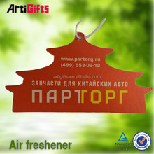 Factory direct sale absorbent popular flavor paper air freshener