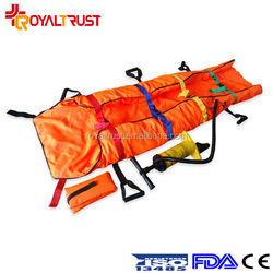 First-aid ambulance soft stretcher