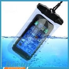 Mobile phone pvc waterproof bag with custom logo