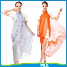 summer scarf solid plain silk scarf