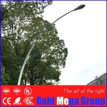 8m self curved street light pole decorative lamp post