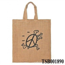 2014 Hot Selling New customize Plain jute tote bag