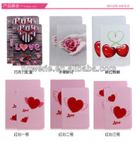 FL312 new arrival Love Series stand wallet leather case for ipad mini 2