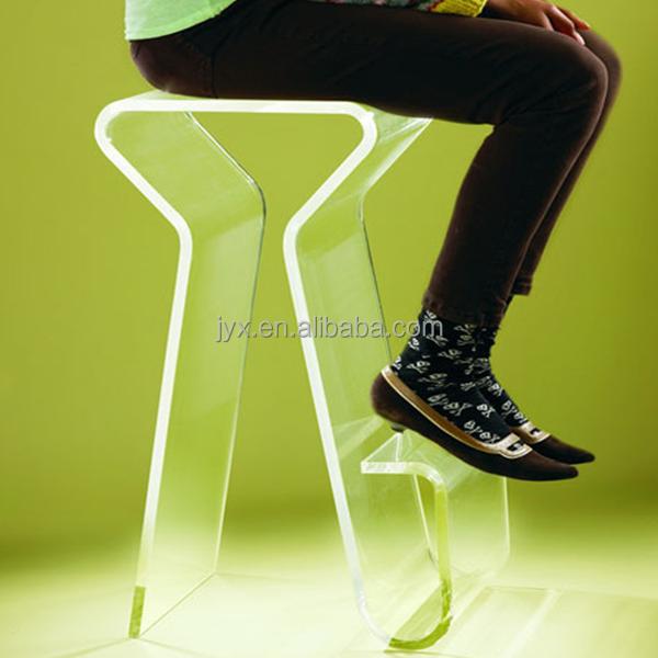Unico Z- a forma di sedia acrilico trasparente, sedie lucite per la casa/rist...