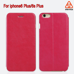 2016 smartphone accessories for iphone 6s/6splus pu leather case ,simple style pu leather case for iphone 6