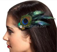 Feather Hair Ornaments kids hairpin for party