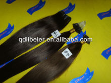 2013 new top grade 5a virgin brazilian remy hair micro-ring hair extension silky straight remy hair extensions