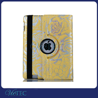 For iPad 2 tablet 360 degree rotating case, 9.7inch tablet case