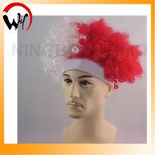 world cup poland crazy fan wig