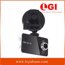 Factory Novatek K6000 140 degree angle lens 2.7 inch LCD front cheap digital 1080P Full Hd dash cam