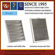 Heavy Duty Stainless Steel Restaurant Kitchen Exhaust Oil Filter