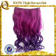 human hair extensions top quality factory price who sale feather synthetic hair extensions