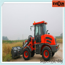 Hot Selling Qingzhou ER 1.6Ton Forestry Machinery Loader with Log Forks
