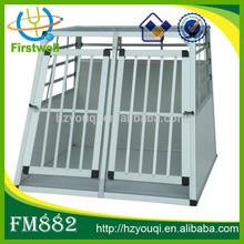 outdoor white MDF wood aluminium dog cage hot sales