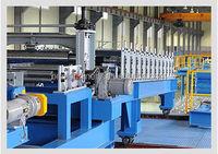 high quality automatic PU sandwich panel FOAMING plate steamer making machine
