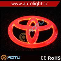 4D Auto Logos LED Car Tail Logo Auto Badge Light White light
