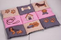 Sudoku beautiful designs non-slip dog mat pet bed