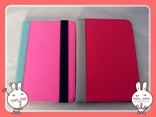 Excellent PU Leather tablet case with Powerful Elastic band suitable for 7 inch Tablet PC