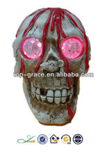 poresin led de halloween cráneo cabeza