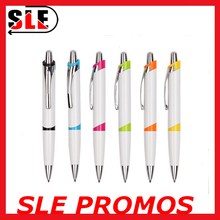 Best selling click ballpoint pen retractable ball pen for office/school/promotion