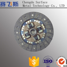 Wet motorcycle clutch plate
