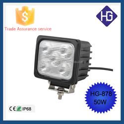 2015 tractor led light bar LED 50w Led Work Light, Auto Working Light LED