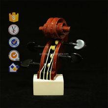 2015 new design resin violin arts and crafts ,Clarinet music arts,trumpet craft handmade home decor