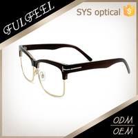 Sales flexible cheap plastic optical frame ,eyebrow frame reading glasses