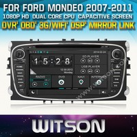 WITSON FORD MONDEO 2007-2013 CAR DVD GPS 1080P DSP CAPACTIVE SCREEN WiFi 3G FRONT DVR CAMERA