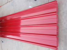 china supplier steel plates color coated corrugated steel sheet metal roofing