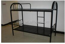steel keel bunk bed student bunk bed for school/ labor camp steel bunk bed